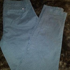 Tommy hilfiger polka dot madison Pants size 8